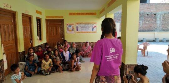 Community meeting to educate community members