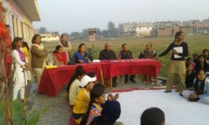 Social Action Project in Varanasi