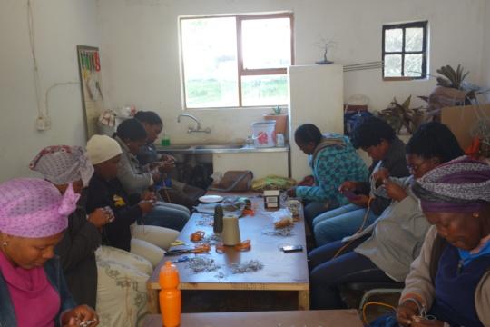 Keiskamma Trust, provides skills to the community
