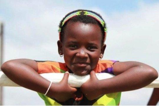 Nokwanda and her bright beautiful smile