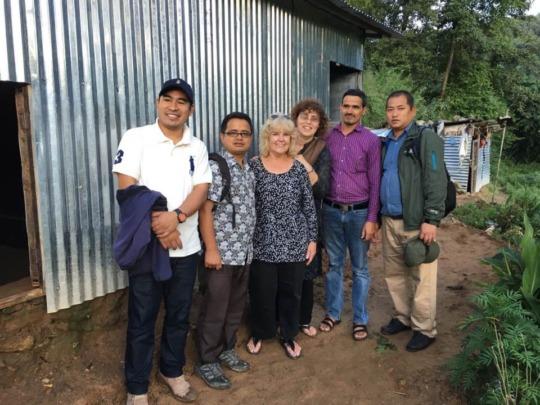 Hope for Nepal and TI team members
