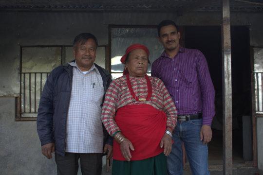 Twenty homes were rebuilt