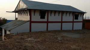 Repaired building