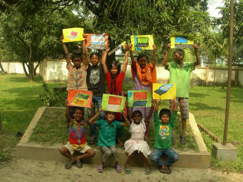 10 Computers Educate 40 Bangladesh Orphans