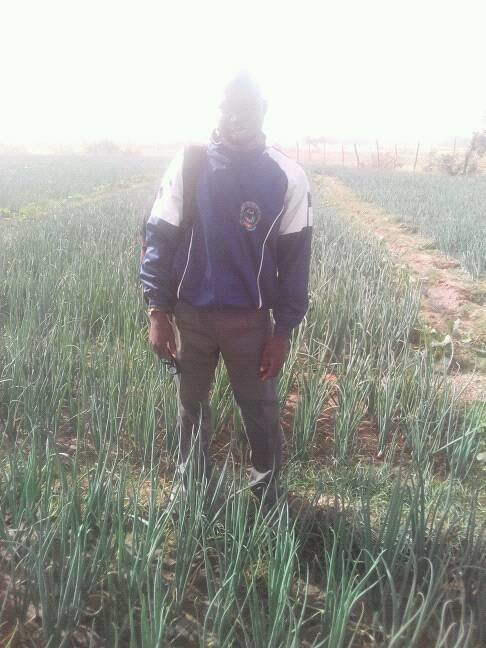 Extension agent from Ministry of Agriculture