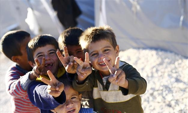 Image result for syrian refugee children