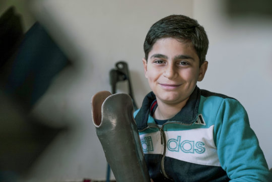 Aadil can smile again (Copyright: Islamic Relief)