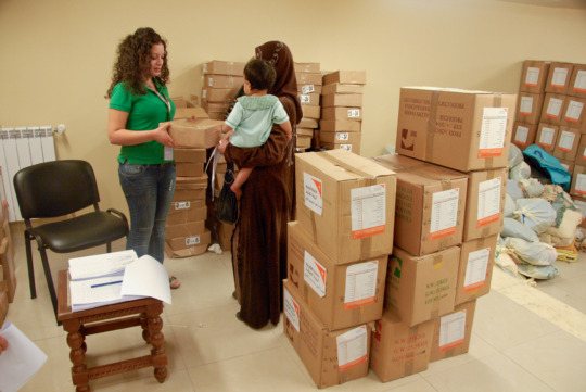 hygiene kits distribution