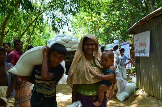 Aid Distribution