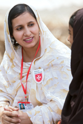 Malteser International is supporting refugees