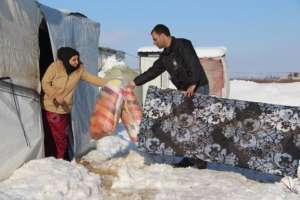 winter relief for refugees