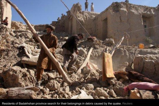 Emergency Appeal Earthquake Badakhshan Afghanistan