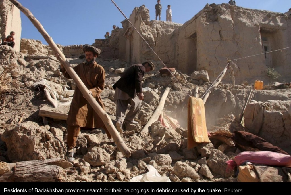 Emergency Appeal Earthquake Badakhshan Afghanistan