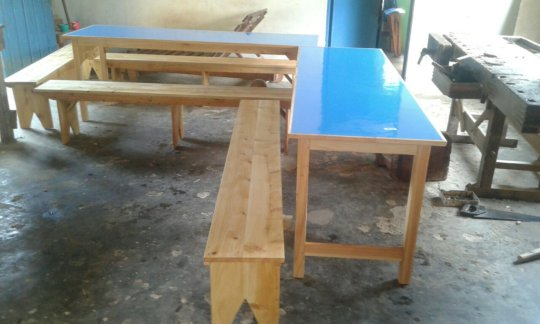 Tables for Milalani Special Unit