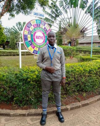Freddy at Don Bosco Technical Secondary School