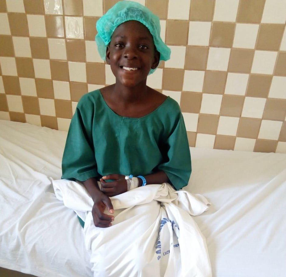 Joy at the hospital