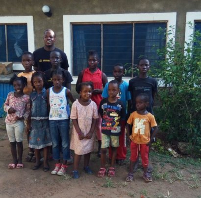 Children at the Project