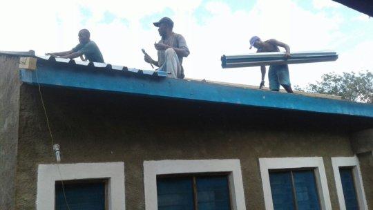 Roof repairs main house