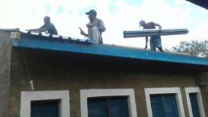 Roof repairs main house