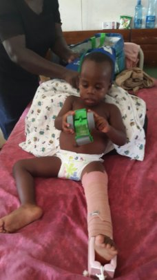 Yusuf at Msambweni hospital