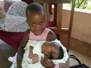 Baby Yusuf and Esther