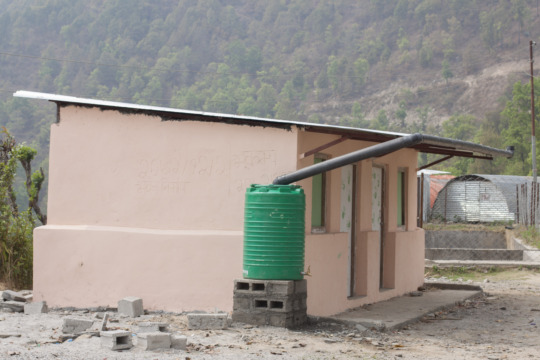 New Bhanjyang School with Rain Catchment System