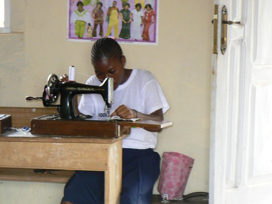 Skills for Women with Disabilities in Ghana