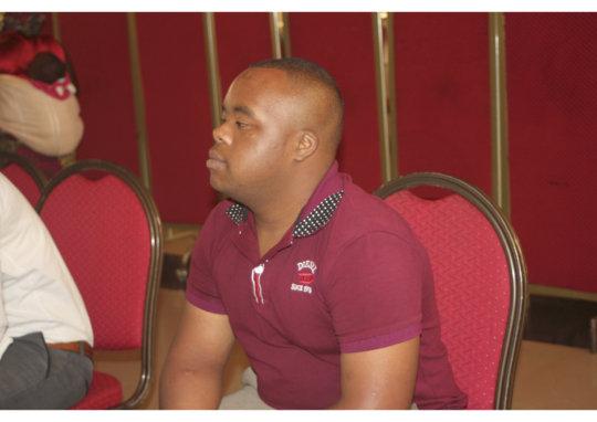 Eric from Rwanda