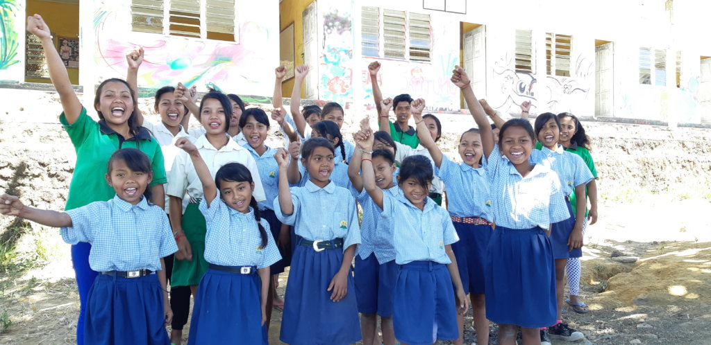 Motivated Jatituhu students