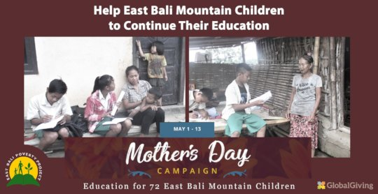 Support our Mother's Day campaign