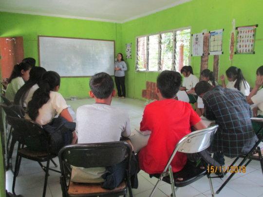 EBPP children prepare for semester exams