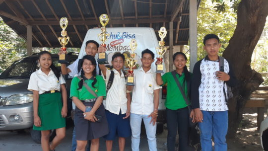 EBPP students won Literacy Day competition