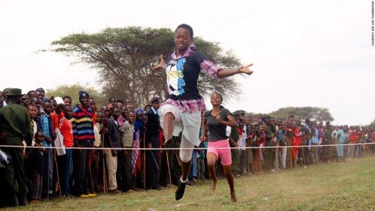 Maasai Olympics Competitors