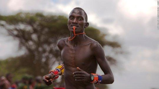Maasai Olympics Competitor
