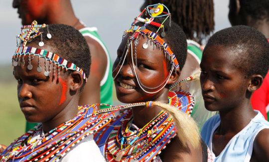 Maasai Olympics Girls Events
