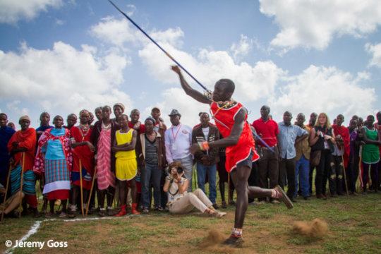 Maasai Olympics: The Hunt for Medals, Not Lions