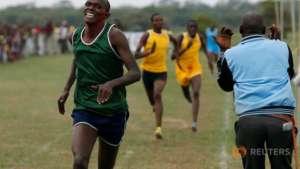 Competitors in men's 800m event.
