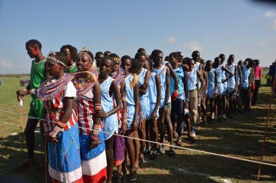 Maasai Olympics - Girls Events