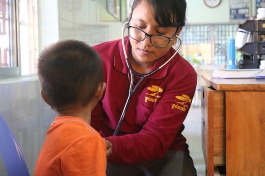 Providing free medical care