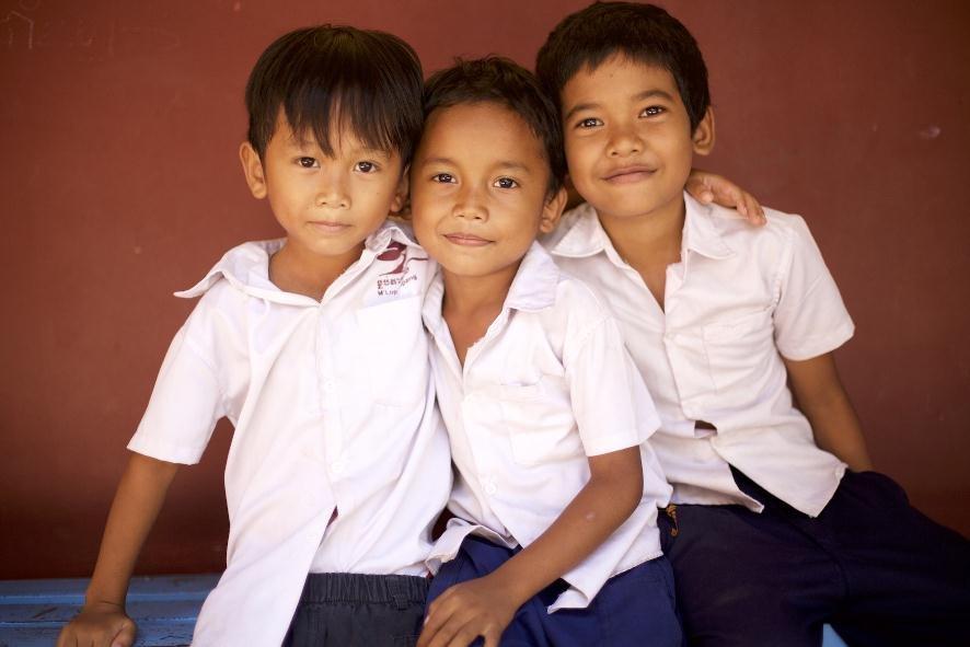 helping disadvantaged Cambodian children