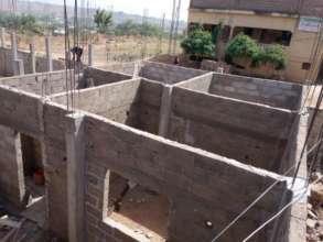 Construction of the infirmary 4