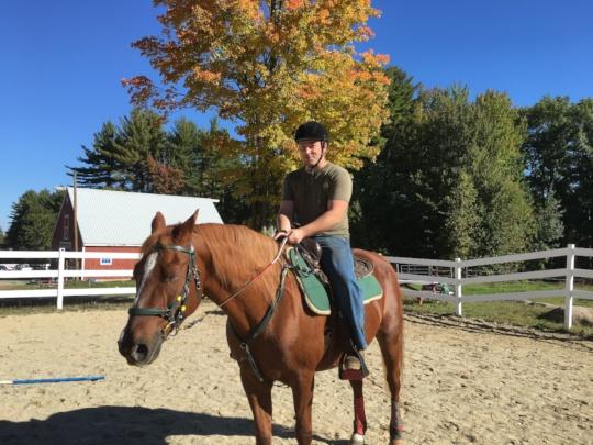 Mike Boldini, Veteran Rider
