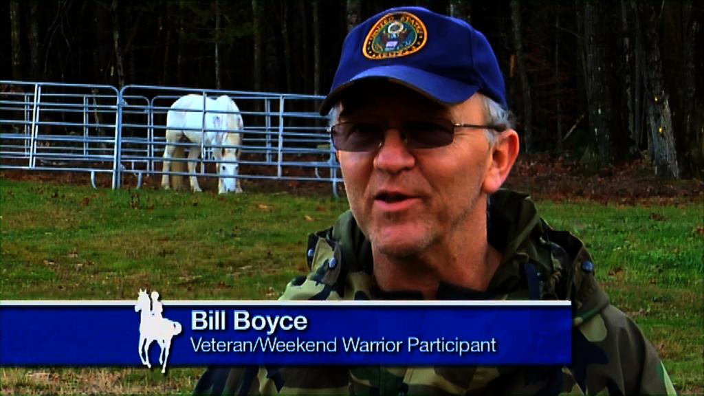 Bill Boyce, Veteran Rider