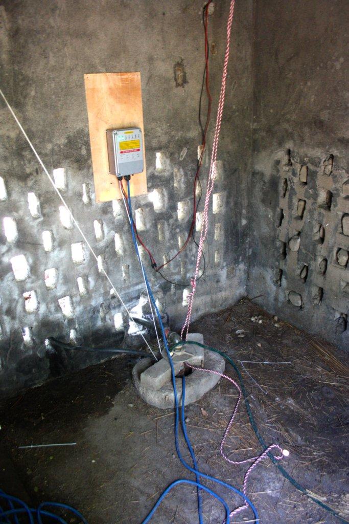 The new pump set up