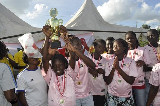 Mrembo FC take gold at local tournament