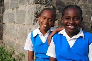 Participants on the Mrembo Girls Program