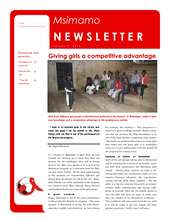 Giving Girls a Competitive Advantage (PDF)