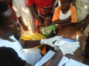 Rapid MalariaTest Kits used.