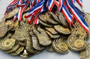 BSF medals for the swimming