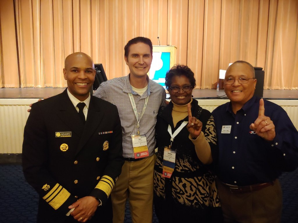 CADCA Chairman & the U.S. Surgeon General.